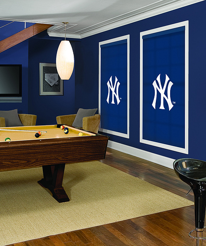 Yankees Man Cave Decor : Friday night lights courcy inspired design